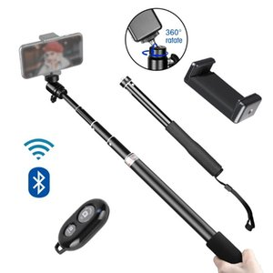 Selfie Monopods SH 90 150cm Adjustable Stick With Wireless Bluetooth-compatible And Phone Clip Use For Smartphone Live Po Youtube