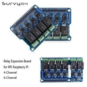 Интегрированные схемы 4 / 6Channel DC 5V реле модуль с оптокуплером низкоуровневый триггер расширительной платы для Arduino Raspberry Pi