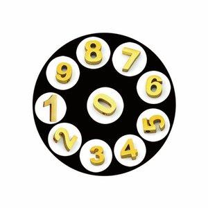 100 шт. / Лот Щеда / Золотая равнина / Кристалл Плавающий Медикаетные Номера Подвески Подходит для живой плавающей памяти Медиката в качестве семейного подарка для M1J24 EDC1V 228 W2