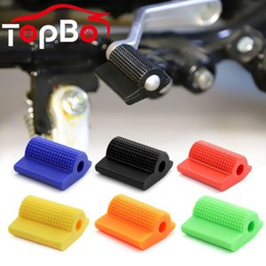 Pedals Rubber Motorcycle Shoe Pedal Cover Protector Lever Universal Shift Gear Foot Peg Toe Gel Protection Motor Accessory