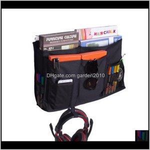Baskets 8 Pockets Bedside Storage Caddy Oxford Hanging Organizer For Student Dormitory Bedroom Bunks Bed Holder Baby Cot Stroller Bag Fxtoe
