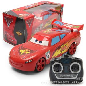 Electric RC CarMcQueen 512-6 four way electric remote control car racing gift box Boys Toys