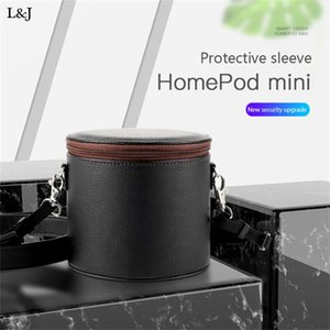 Storage Hard Shell Travel Portable Quick Release Lightweight Protective Smart Speaker Carrying Bag For HomePod Mini #LR1 Computer Speakers
