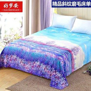 Four Seasons Bed Sheet Trendy Household Textile Bedding Mattress Dust-proof Bedspread Dorm Room ( No Pillowcase ) F0131 210420