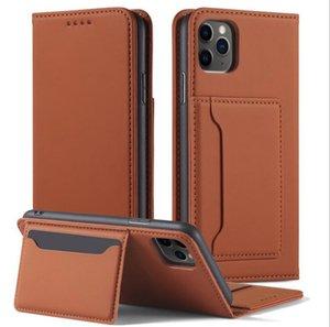 Tarjeta de billetera Funda de bolsas para iPhone 13 11 12 Pro Max Mini Case Funda de cuero 7 8 XS