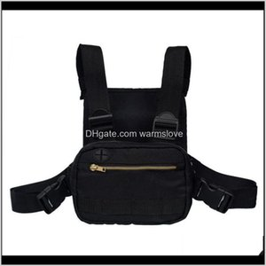 Outdoor Tactical Package Backpacks Outdoors Gym Bag Black Waist Bags Good Men Chest Pack Rig Hip Hop Streetwear 35Hd E2 Vbty9 Nmtjy