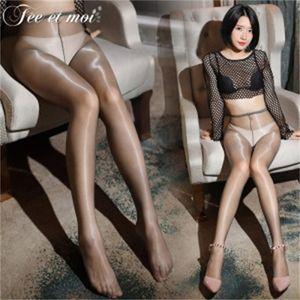 Second Feimu Generation Greasy Anti Slip Pantyhose Sexy Underwear 7332-7333