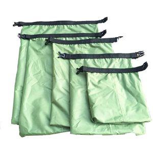 5шт водонепроницаемый сухой мешок Открытый плавание сноркелинг Beach Beard Storage Sack путешествия дрейфующие сумки Спортивные инструменты выживания
