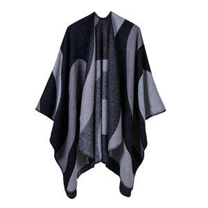 Luxury Brand scarves shawls Shawls For Women Autumn Winter Simple Casual Wraps Fashion New Imitation Cashmere Geometric
