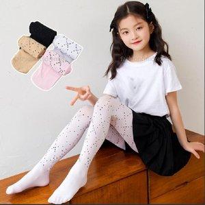 girls mesh tight summer kids leggings letter printing designer children hook silk bottoms pants