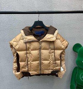 21FW Designer Down Weste Damen Mantel Mode mit klassischer Buchstaben ärmellose Baumwolle Westen Herrenjacke Größe S-L
