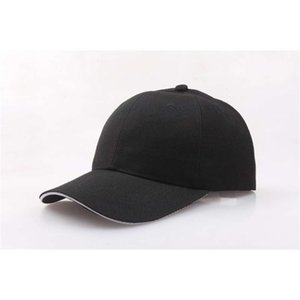 ball caps Solid color work team duck tongue travel men's advertising baseball hat