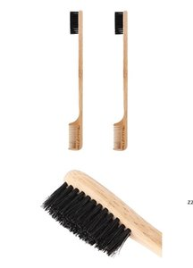 Factory Edges Brush Comb Bamboo Styling Care Tools Edge Fixer for Baby Hairs Compact Curling Accessories HWE9594