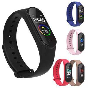 Bileklikler Spor Fitness Bilezik İzle Smartwatch Kan Basıncı Kalp Hızı Su Geçirmez Bileklik M5 Akıllı Bant