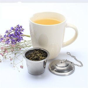 Seasoning bag tea infuser 304 stainless steel basket with cap hot pot cooking soup stew teapot mesh filter 650 S2