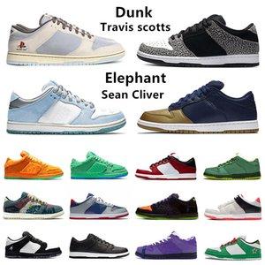SB Dunk travis scott düşük platformlu erkek koşu ayakkabıları 7-Eleven güvercin Istakoz smaçları Civilist Sean Cliver Fil Raygun Buğday Mocha lshod wair erkek bayan spor ayakkabı