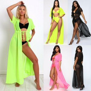 Women Sexy Swimwear Bikini Cover Up Beach Dress Bathing Suit Swimsuit Plus Size Maxi Wrap Skirt Sarong Pareo Women's
