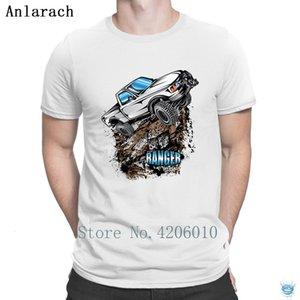 T Shirts Blanco Ford Ranger T-shirt Nice Print Summer Style Letra Men Tshirt Mejores efectos básicos Katoen Anlarach