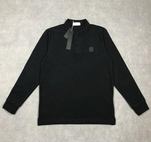 Nuevo diseñador Polos para hombres de alta calidad Cotton T Shirts de lujo Camisetas de manga larga de lujo Camisa casual Camisa de los hombres de los hombres camisetas