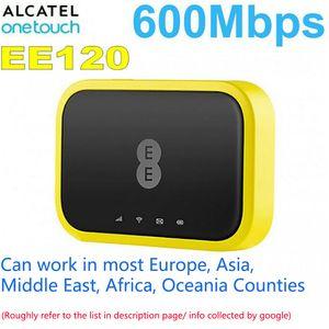 Unlocked Alcatel EE120 EE70 Cat12 600Mbps 4300mAh 4G LTE Mobile WiFI router Modem