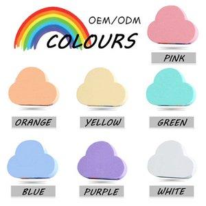 Rainbow Soap Cloud Bath Salt Moisturizing Exfoliating Cleaning Body Skin Bubble Baths Bombs Multicolor For Baby