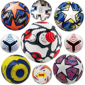 Europe soccer ball Champions League 20 21 22 UEFAs EURO KYIV PU size 5 2021 Serie A adult match train Special football granules slip-resistant superior quality balls