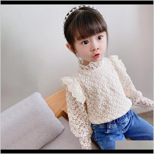 Tshirts Xzxy Ins Lace Princess Autumn Fly Full Sleeve Solid Tops Outwear Shirts Blouses Coat Toddler Kids Baby Girls Pgzgq Oh7Xh