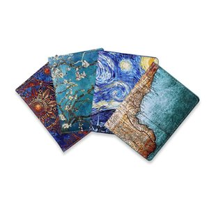 Card Holders Starry Sky Passport Cover Fashion Women Men Pu Leather Travel Wallet Landscape Holder High Quatity Case For Passports