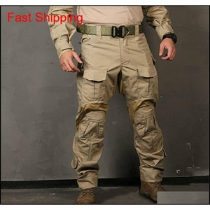 Clothing Gear Emersongear G3 Hunting Mil Trousers Tactical Combat Pants With Knee Pads Emerson Drop Delivery 2021 Wdcdb