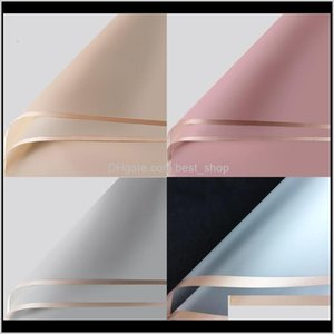 Wrap Valentines Day Gift Packaging Paper A Set Of 20 Sheets Waterproof Wedding Florist Flower Bouquet Wrapping Supplies 6 5Mya J2 Wadt Mhz13