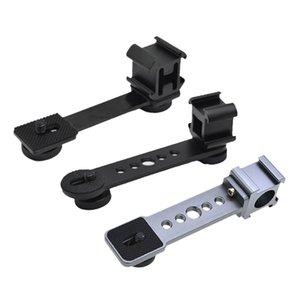 Triple Cold Shoe Mount Plate Vlog Microphone Flash Light Stand Extension Bracket For Zhiyun Smooth 4 Lighting & Studio Accessories