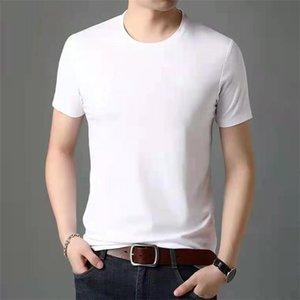 New Mens shirts tshirt de luxe arma Hip Hop Summer mens Crew Neck 100% Cotton Anti-Pilling chemise de luxe mens workout clothes
