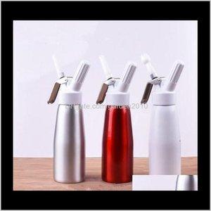 Cake Tools Aluminum Gun Water Bottles Drinkware Dining Bar 500 Ml Whip Coffee Dessert Fresh Butter Eea292 Lwsvk E0Hd9