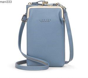 Women's messenger bag Shoulder Purse Handbag travel fashion mobile phone protective pocket leather case postman