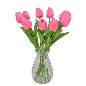 2021 fleur PU mini tulipe de mariage artificielle décoration de soie fleur de soie maison artificiels usines