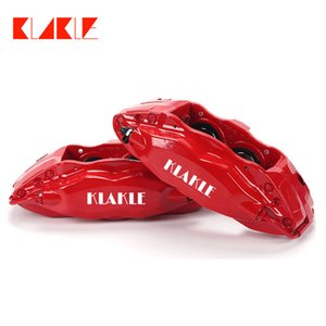 KLAKLE Brakes Kit Car Accessories F50 Cars Caliper 4 Big Piston 355*28MM Durable Brake Disc Front Wheel 18 Inches For Toyota WILL