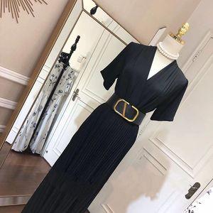 Genuine leather women's width 7cm belt trendy fashion girdle big V letter gold buckle