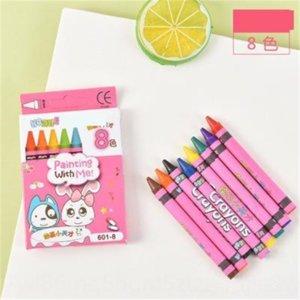 L8K4 Coréen Tationery Patel Patilstationy Huile Tick 8 12 Pen-Pening Pen 24 Couleur Crayon et Coloriage Graffiti Ticking Tick S