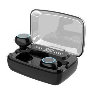 TWS الهاتف المحمول Audifonos Con Inalambricos True Ecouteur IPX7 للماء سماعة بلوتوث