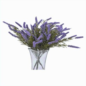 Decorative Flowers & Wreaths Simulation Artificial Flower Romantic Lavender Comfrey Bouquet Dress Up Wedding DIY Home Outdoor El Party Offic