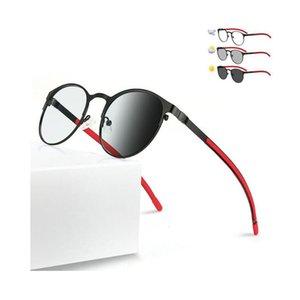 Fashion Photochromic Reading Glasses Color Change Lens Eyeglasses Transition Sunglasses Outside Driving Eyewear Reader +1.0~+4.0 Strength