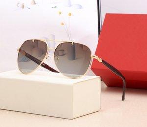مصمم جودة عالية مصمم النظارات الشمسية الأزياء المستقطبة حزام العدسات والمجوهرات تتطابق جدا مع Lasses رجالي سونغ