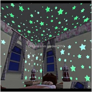 Wallpapers Guest Bedroom Romance Colour Fluorescent Wallpaper Luminous Stars Creative Children Room Decorating Jlpw8 Kz8E4