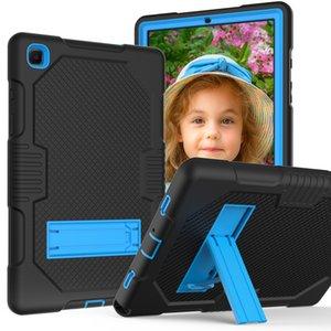 Tablet Capas para Samsung Tab A7 T505 / T500 10.4 Tabs6 Lite10.4 2020 (P610 / P615) Aba A 10.1 T515 / T510 2019 3 Proteção de Camada com Funções de Kickstand Prova à prova de choque