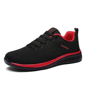 Rahat Ayakkabılar FKOI Mixidelai Işık Yeni Lac-up Mesh Ayakkabı Erkekler Rahat Ağırlık Rahat Solunum Yürüyüş Sneakers Tenis Feminino Zapatos 7TBD