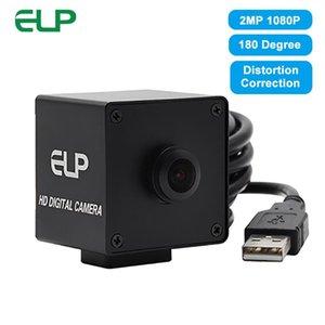 Cameras ELP 180 Degree Distortion Correction USB Webcam 1080P HD Aptina AR0330 Color CMOS Sensor H.264  MJPEG YUV Camera With