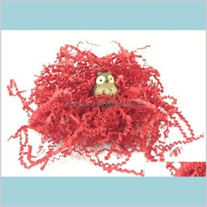 Packaging Paper Packing & Office School Business Industrial 1Kg A Bag Crinkle Shredded Shred Gift Basket Confetti Gifts Box Filling Ma