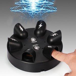 Engraçado teste truque ajustável adulto micro choque elétrico mentira detector chocante mentiroso verdade partido consoles presentes brinquedo 03