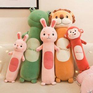 Fabricantes e suave longos bonecos de sono cilíndrico criativo brinquedo preguiçoso brinquedos de pelúcia crianças presentes 757 x2
