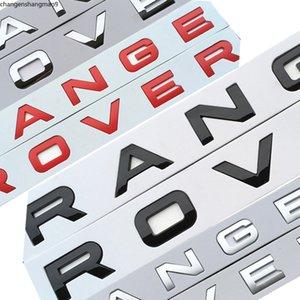 Car Styling Hood Trunk Logo Badge Sticker For Range Rover Sport Evoque Styling Trunk Logo Letters vb j u itg